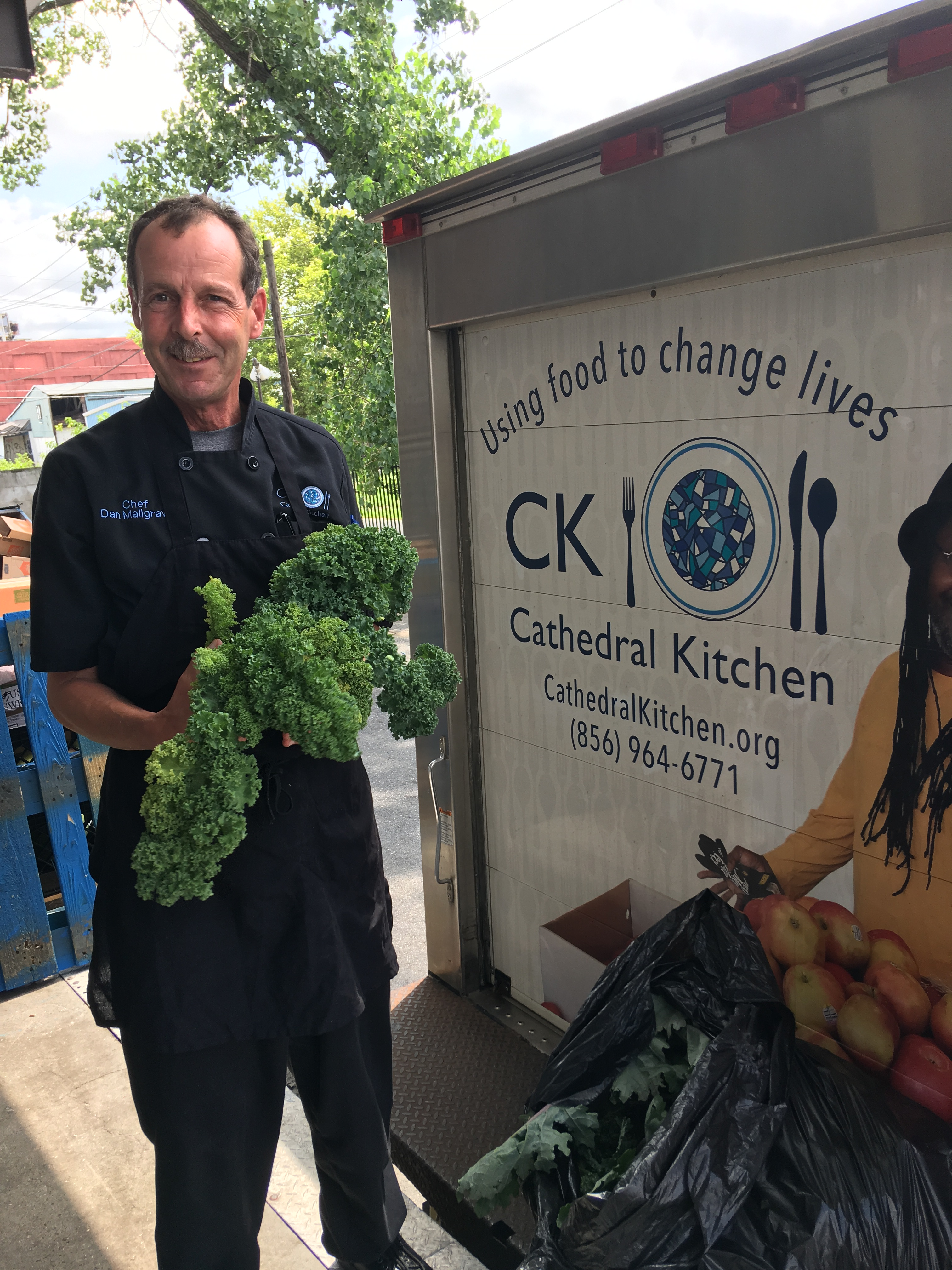 Harvesting For Camden Kitchen Newton Friends Meeting
